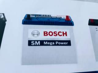 Car Battery Bosch Battery Mega Power                                                             SM 80D23L 70AH CCA560                                                                   Warranty 1 Year