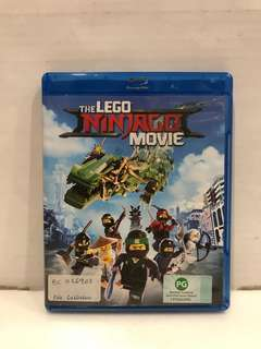 LEGO NINJAGO MOVIE BLU RAY