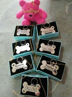 PERSONALIZED/CUSTOMIZED DOG&CAT TAG