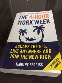 The 4 hour workweek Tim Ferris book