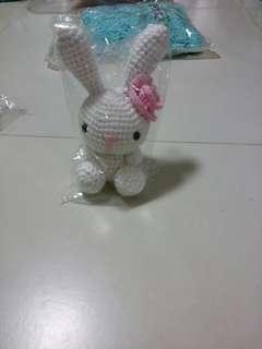 Soft crochet rabbit