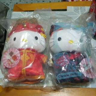 McDonald 麥當勞 - Hello Kitty 結婚公仔一對(中國篇)