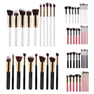 Make up brush 10 pcs set