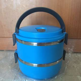 Stainless Steel 2-tier Food Container