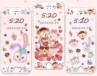 Duffy/ Stella Lou iPhone 手機屏幕保護貼