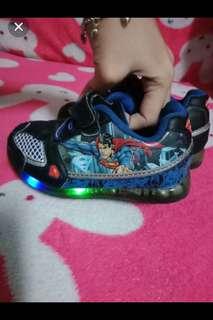 Superman shoes w/ light up