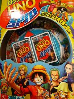 One piece spin uno