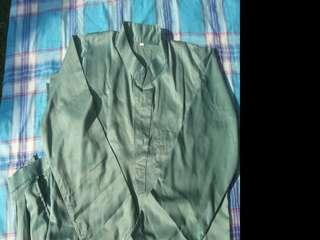 Nice green baju melayu