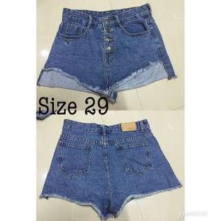 Highwaist sexy denim shorts!