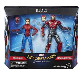 Marvel legends - Spider-Man Homecoming (2 Pack) (訂)