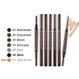 SALE Etude House Eyebrow Pencil shade #3 BROWN