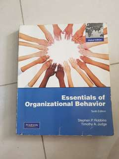 Essential of Organizational Behavior