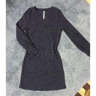 knit longsleeve dress