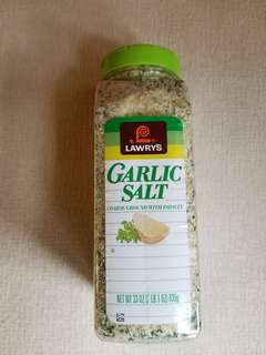 現貨 Lawrys Garlic Salt 蒜蓉鹽