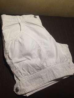 Pre-loved white shorts