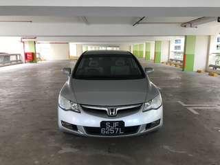 Honda Civic FD Hybrid 1.3A SG