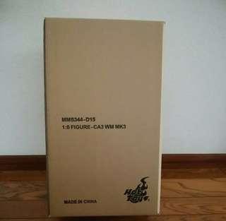 全新啡盒hot toys war machine mms 344 civil war 系列