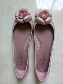 Authentic Kate Spade flat shoes in nude pink