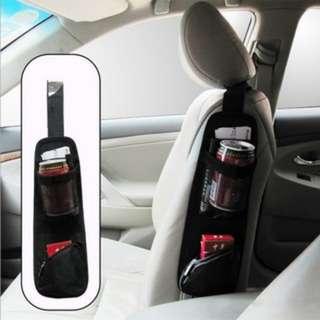 [PO532]Car Auto Seat Side Back Storage Pocket Backseat Organizer