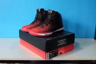 Air Jordan XXXI Black / University Red - White