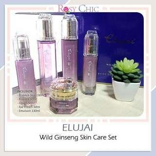 Elujai Wild Ginseng Skin Care Set