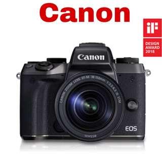 Canon M5 (EF-M 18-150mm) Mirrorless Camera