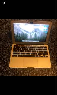 Apple laptop air