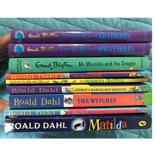 Roald Dahl and Enid Blyton
