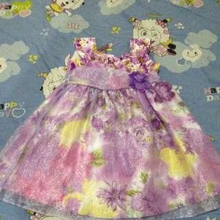 Lavender pretty dress