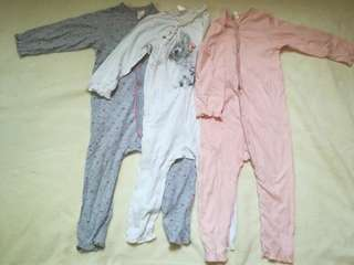 Baby girl overall