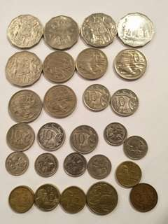 Australia old coins 26pc offer $15
