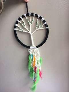 Tree of life dream catcher