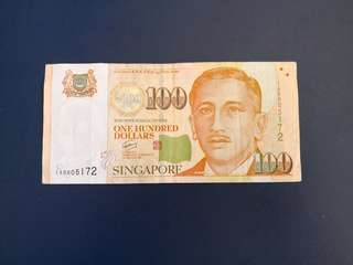 Portrait series $100 Replacement notes (1AR)