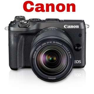 Canon M6 (EF-M 18-150mm) Mirrorless Camera