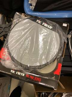 """Vic Firth 12"""" practice pad (brand new)"""