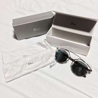 Dior So Real Silver/Blue Mirrored Sunglasses
