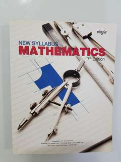 Shinglee Mathematics 1 Textbook , 7th Edition