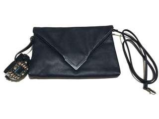 Aldo bag/clutch with beaded bracelet attached