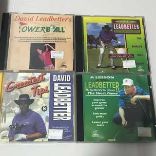 David Leadbetter Golf VCD (set of 6)