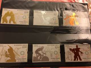 香港郵政 2009東亞運動會 郵票