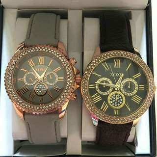XOXO Watches  2 watches in 1 box