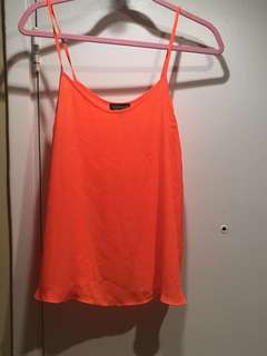 Top shop tank, size 6