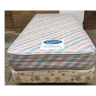 Excellent Sealy Brand single mattress with base for sale. Deliver