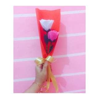 Bunga mawar / mawar flanel