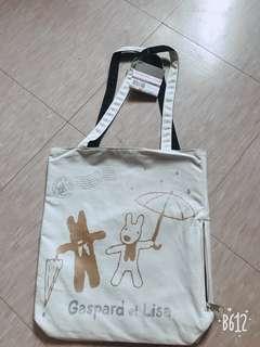 🚚 Gaspard et Lisa麗莎和卡斯柏手提袋 購物袋 環保袋