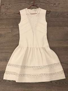Maje white dress 斯文裙