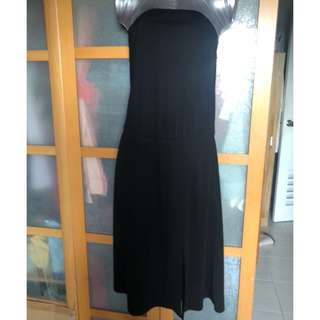 FOUNTREEN TUNIC BLACK DRESS