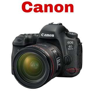 Canon 6D II (EF 24-70mm F4) DSLR Camera