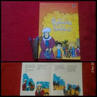 Buku anak seri Taman Kebaikan Rahasia Sedekah
