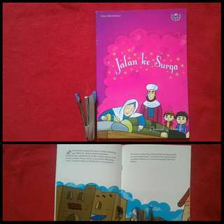 Buku anak seri Taman Kebaikan Jalan ke Surga